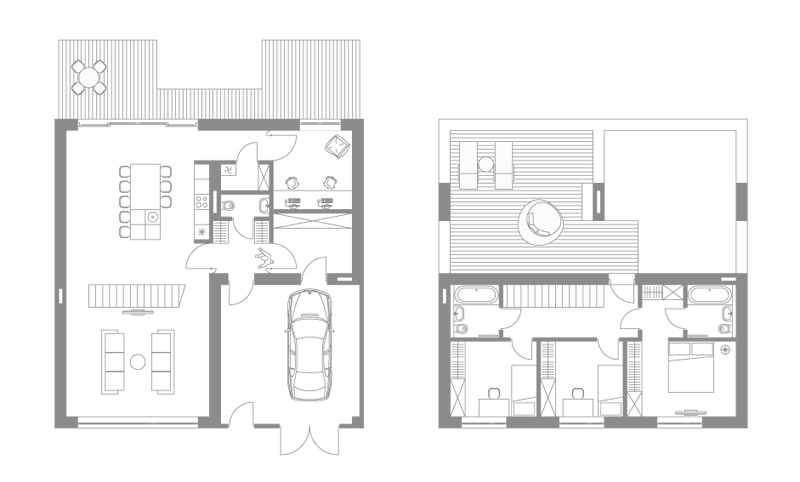 �������� townhouse zaarchitects