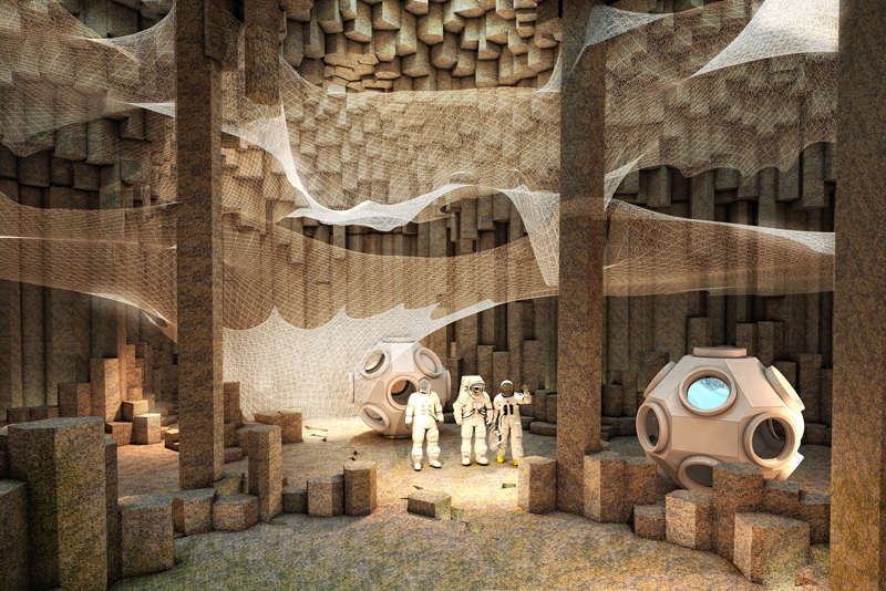 mars colonization zaarchitects interior